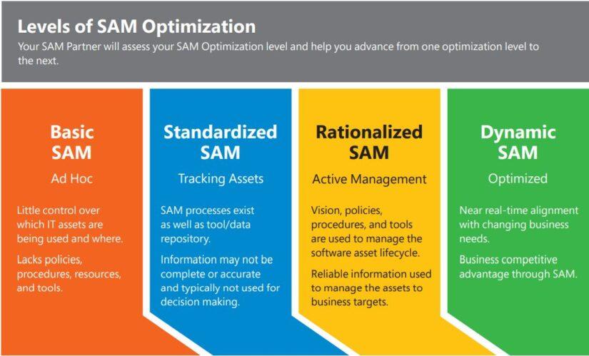 軟體資產優化模型(SAM Optimization Model)
